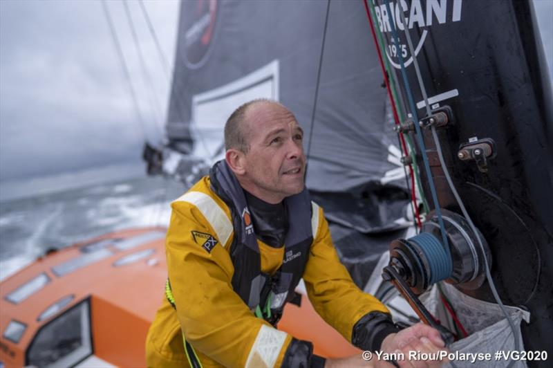 Kevin Escoffier - Vendée Globe photo copyright Yann Riou / Polaryse / VG2020 taken at  and featuring the IMOCA class