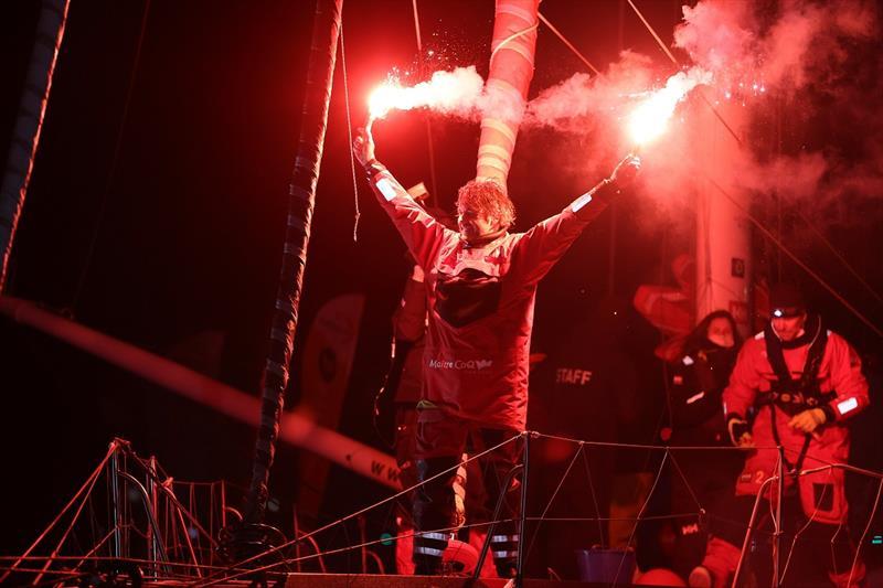 Yannick Bestaven on Maitre Coq wins the Vendee Globe 2020-21 - photo © Jean-Marie Liot / Alea