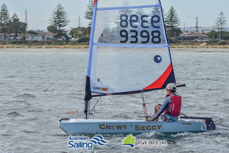The Open Bic fleet had some great racing - 2018 South Australian Youth Championships - photo © Harry Fisher