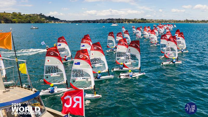 O'Pen Bic World Championships. Manly Sailing Club, New Zealand. Sunday 30 December. - photo © Suellen Davies