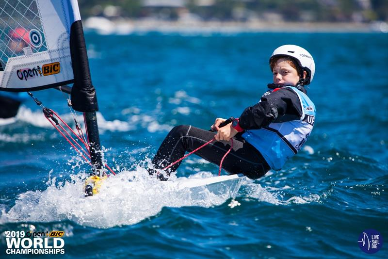 2018 O'Pen BIC World Championships - Manly SC, New Zealand - Day 3 - photo © Suellen Davies
