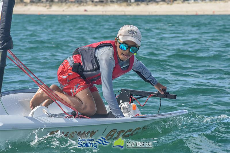 Nicholas Ebourne finished second in the Open Bic fleet - 2019 South Australian Youth Championships - photo © Harry Fisher
