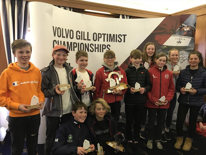 Volvo Gill Optimist Spring Championship in Lymington - photo © Optimist class