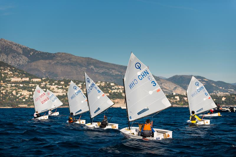 Monaco Optimist Team Race final day - photo © Martin Messmer