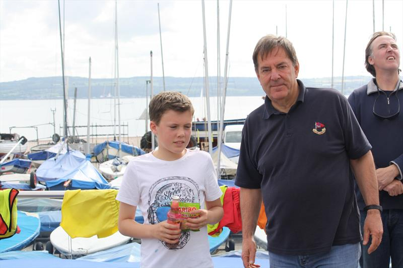 Sportsmanship winner in the IOCA (UK) Random Pairs and 4 Boat Team Racing - photo © IOCA (UK)