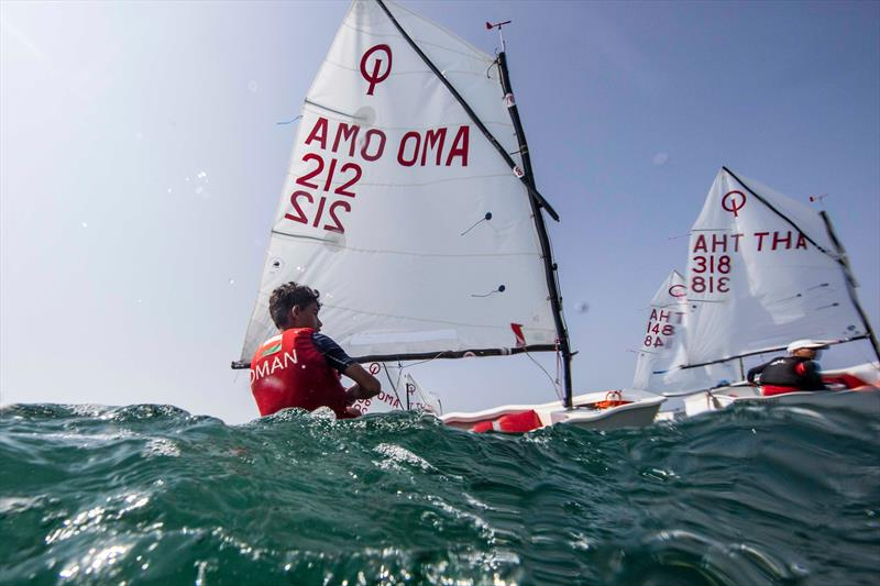 Optimist sailing at Oman Sail - photo © Oman Sail