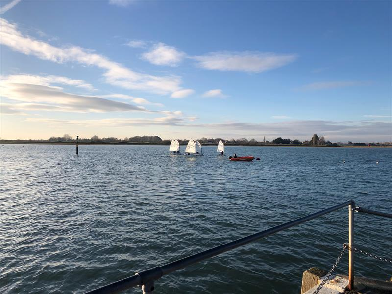 IOCA South Pre-RTG Winter Training at Bosham - photo © Roger Cerrato
