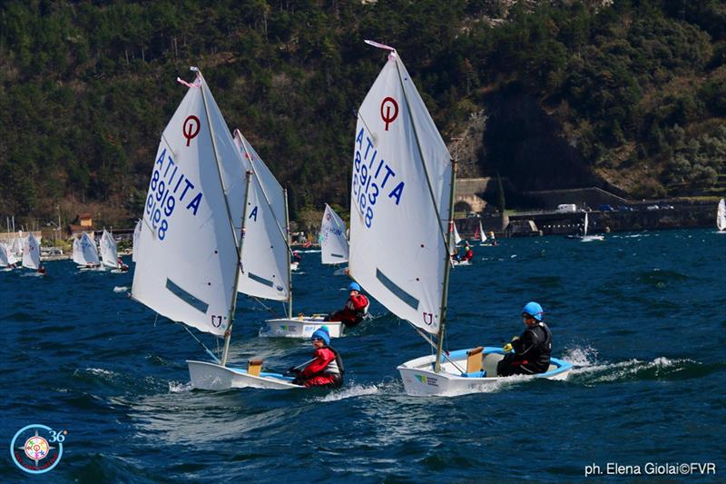 36th Lake Garda Optimist Meeting - Day 4 - photo © Elena Giolai / Fraglia Vela Riva