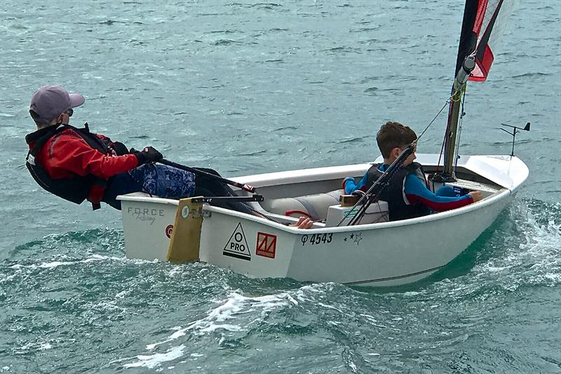 O-Pro is easily sailed two-up - photo © Richard Gladwell
