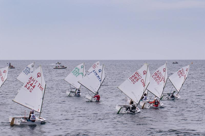 2018 Optimist Asian and Oceanian Championship at Ngwe Saung Yacht Club - Day 2