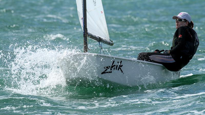 Toyota National Optimist Championships, Murrays Bay SC, April 2019 - photo © Richard Gladwell