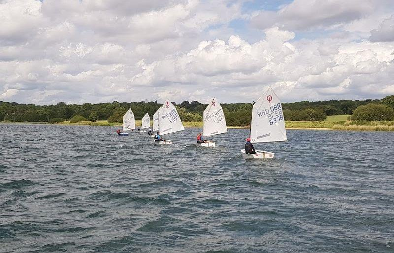 The Old Salt Loft Optimist IOCA East Championships at Royal Harwich  - photo © Alex Davey