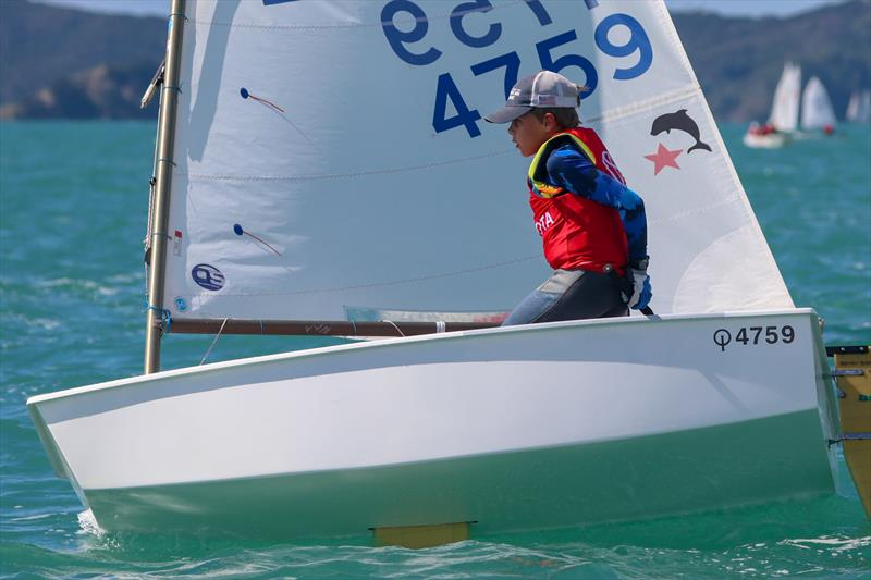 Matteo Barker - White Fleet Champion - 2021 Toyota Optimist Championships - Maretai - April 2021 - photo © Yachting New Zealand