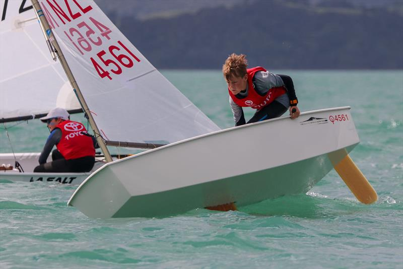 Neilsen Meacham - Toyota Optimist National Championships - Maraetai Sailing Club - April 2021 - photo © Yachting NZ