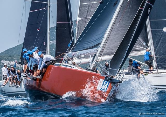 New Class C leader Hebe V: `We are very good in this breeze` - 2019 D-Marin ORC World Championship - photo © JK Val