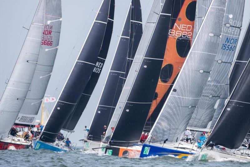 Close racing in Class B at the 2018 Hague Offshore Worlds - photo © Sander van der Borch