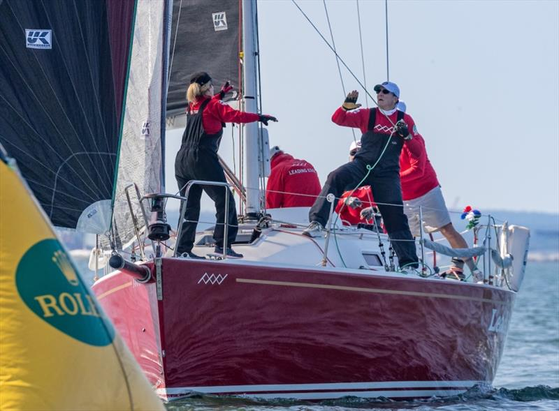 Tom Sutton's Leading Edge - 2020 NYYC Race Week at Newport, day 1 - photo © Rolex / Daniel Forster