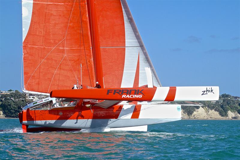 ORMA60 Frank Racing - Start - PIC Coastal Classic - October 19, - photo © Richard Gladwell
