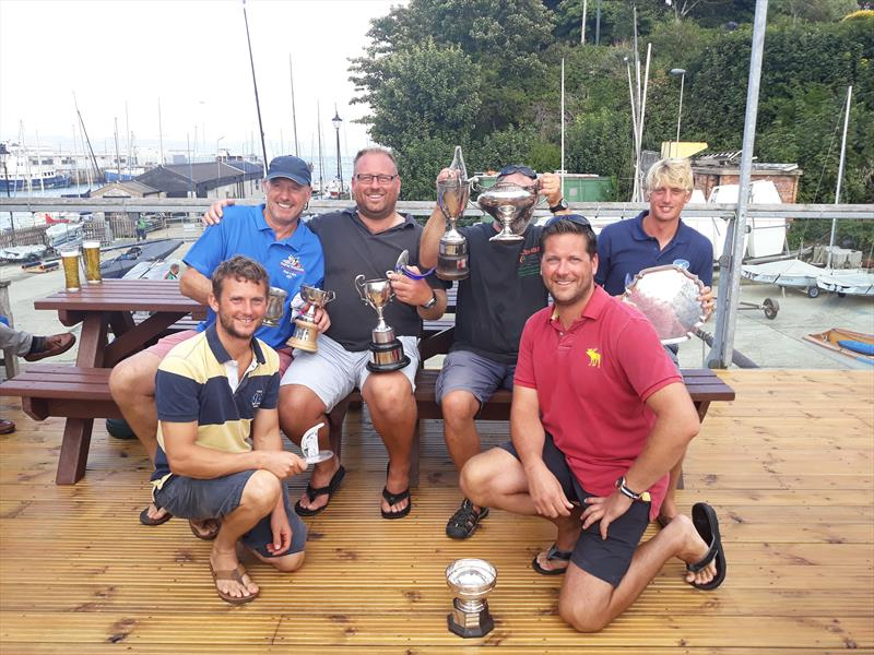 Osprey Nationals in Weymouth prize winners - photo © Simon Hawkes