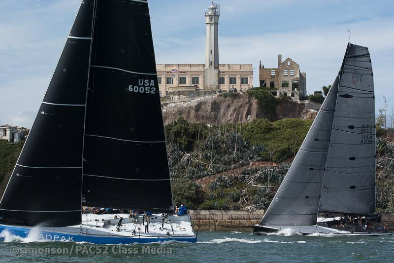 Pac52 Cup at St  Francis Yacht Club - Day 2