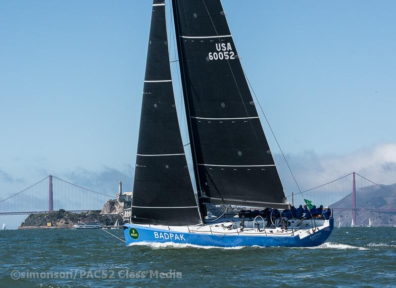 Badpak Vd.Pac52 Class At The 2018 Rolex Big Boat Series Day 1