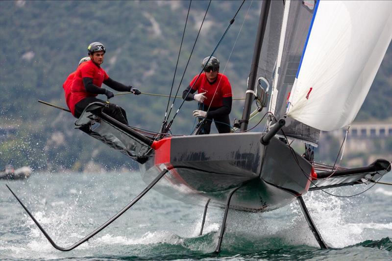 Persico 69F Grand Prix 3.1 in Malcesine - Day 1 - photo © Persico 69F / Studio Borlenghi