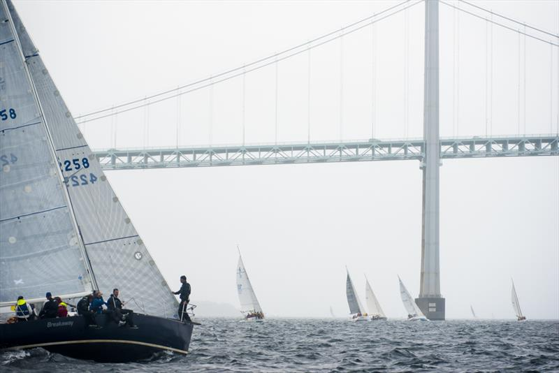 90th Anniversary Conanicut Yacht Club Around the Island Race - photo © Cate Brown Photography
