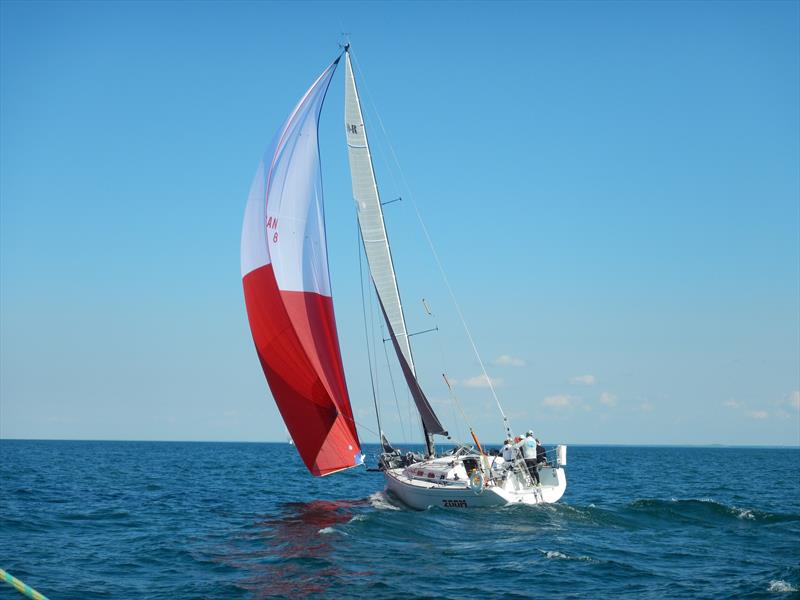 Off-the-breeze conditions at the Lake Ontario 300 Challenge - photo © Image courtesy of the Lake Ontario 300 Challenge