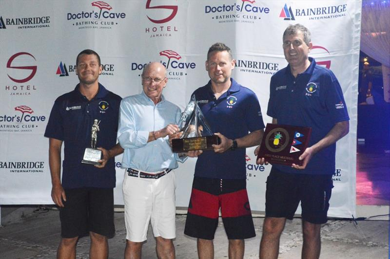 Argo Record Breaking Trophy - 2019 Pineapple Cup - photo © Edward Downer/Pineapple Cup