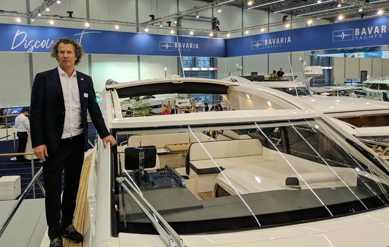 Bavaria SR41 walk-through with Siep Keizer, Product Manager at Bavaria Yachtbau