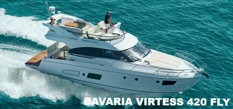 Bavaria Virtess 420 Fly  photo copyright JK3 taken at  and featuring the Power boat class