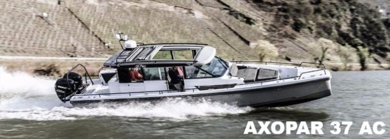 Axopar 37 AC photo copyright JK3 taken at  and featuring the Power boat class