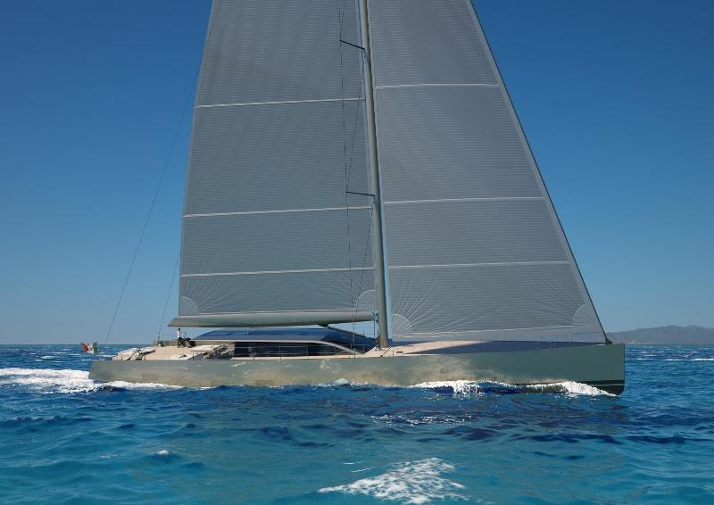 Perini Navi announces the sale of a 42-meter sailing yacht