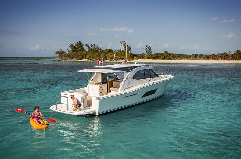 Riviera 445 SUV  photo copyright Riviera Studio taken at  and featuring the Power boat class