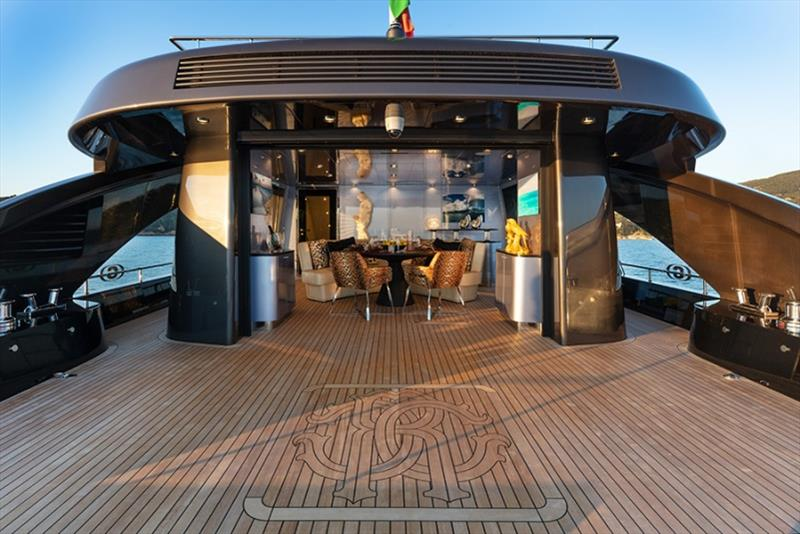 28m M/Y Freedom - Main Lounge - photo © Tommaso Spadolini