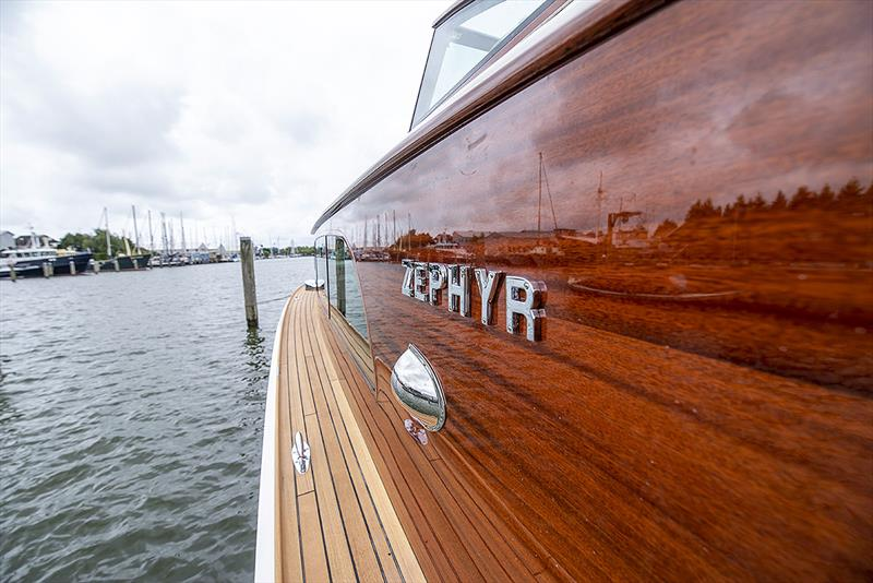 1939 Feadship Zephyr photo copyright Guy Fleury Photography taken at  and featuring the Power boat class
