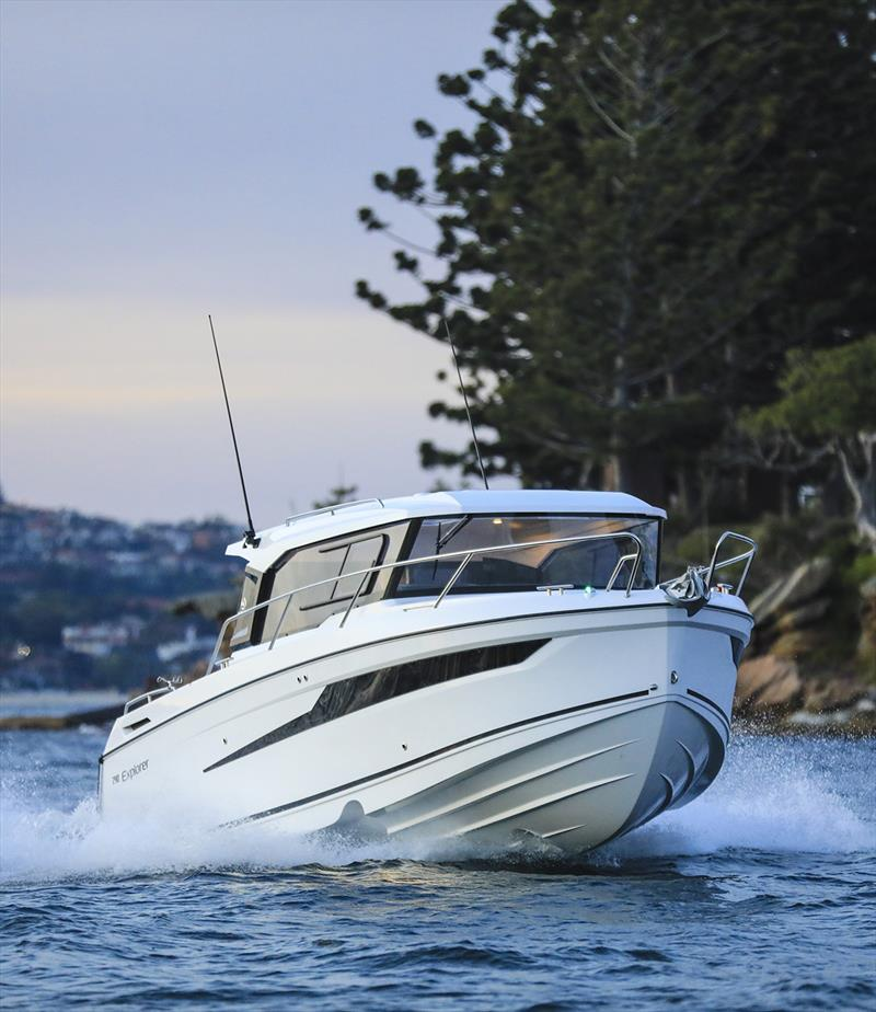Parker boats are renowned for their stability and quality