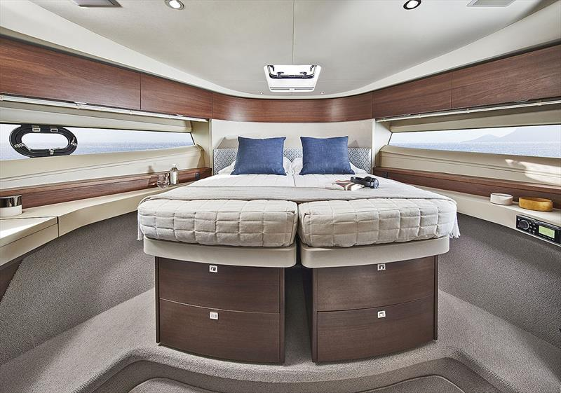 Princess Yachts F50 - Forward Guest Cabin (Closed Bed) photo copyright Princess Yachts taken at  and featuring the Power boat class