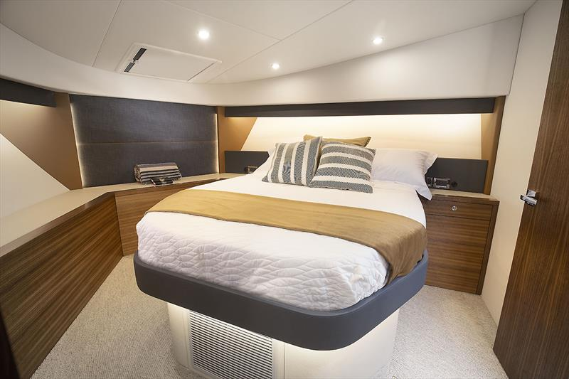 For'ard VIP on the Maritimo's very new X50R - photo © Maritimo