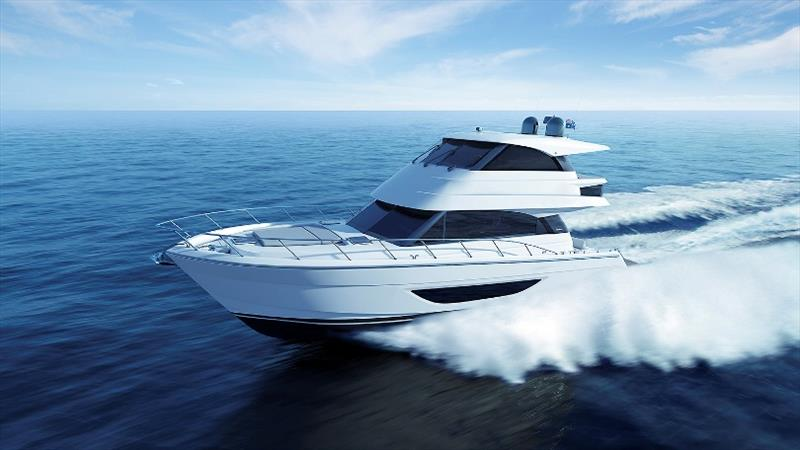 Maritimo M55 Flybridge - photo © Maritimo
