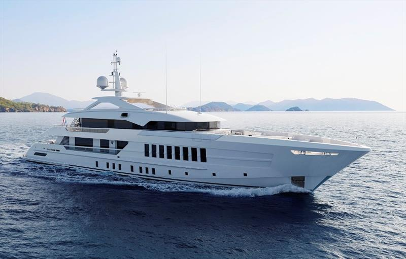 YN 19755 Project Gemini photo copyright Heesen Yachts taken at  and featuring the Power boat class