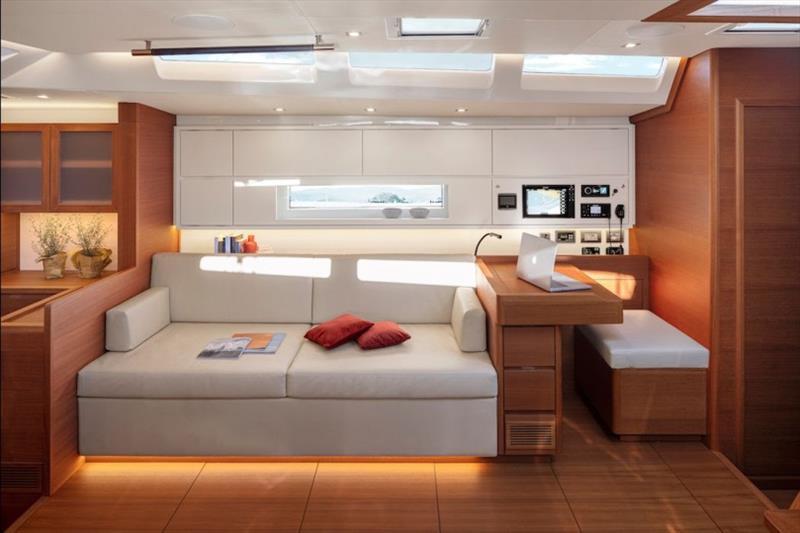 Solaris 60 interior - photo © Solaris Yachts