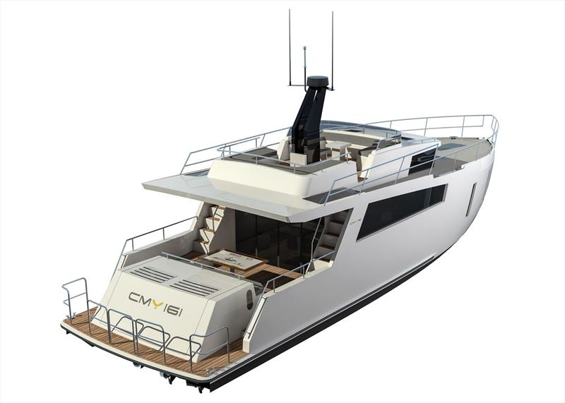 CMY 161 - photo © Compact Motor Yachts