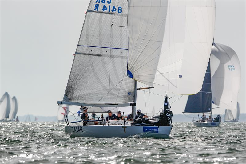 Aguila won the Quarter Ton class's Short Series with a win in every race at Lendy Cowes Week - photo © Paul Wyeth / CWL