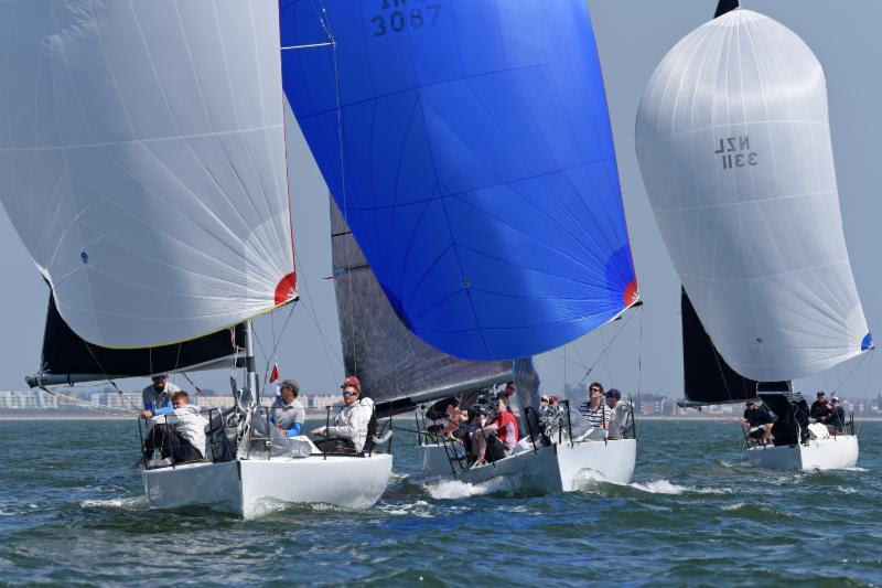 Quarter Ton fun for Bullet, Anchor Challenge and Blackfun - 2018 Vice Admiral's Cup - photo © Rick Tomlinson