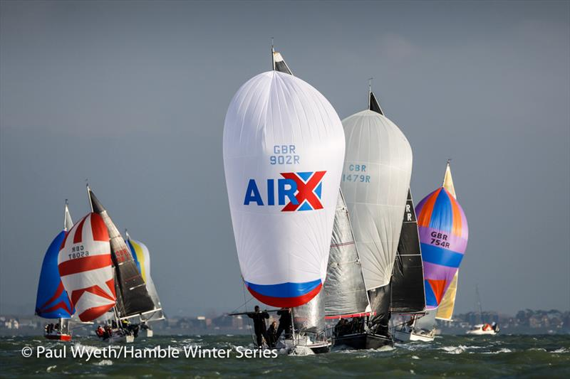 Protis in week 7 of the HYS Hamble Winter Series - photo © Paul Wyeth / www.pwpictures.com