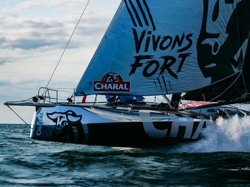 Beyou Jeremie Charal IMOCA Charal Sailing Team - photo © Charal Sailing Team