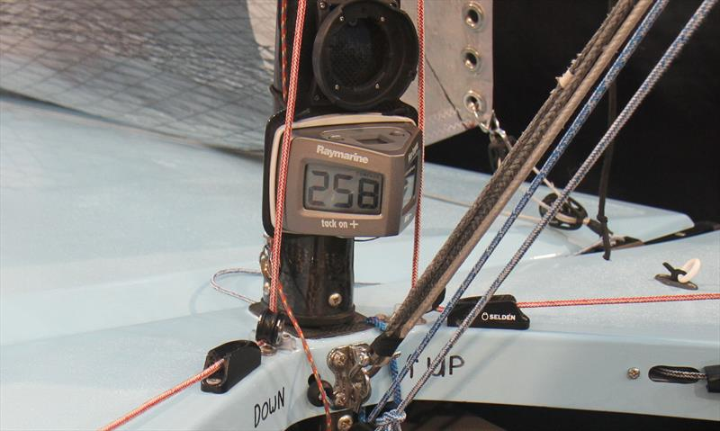 The Raymarine Microcompass on 'Scrumpet' Concours d'Elegance winner at the RYA Suzuki Dinghy Show - photo © Mark Jardine