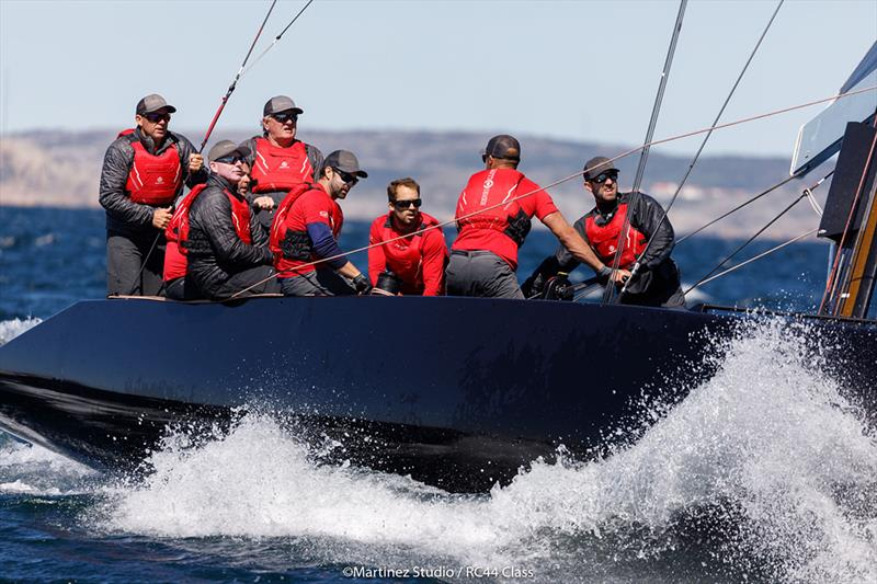 On form today was Nico Poons and his crew on Charisma - 2018 RC44 Marstrand Cup - Day 2 - photo © MartinezStudio.es