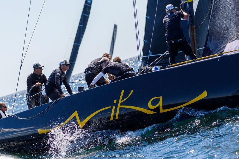 Team Nika finished the RC44 Marstrand Cup with two excellent final races - photo © Nico Martinez / MartinezStudio